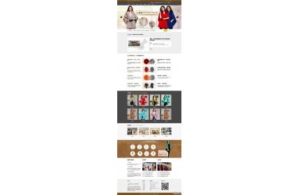 响应式服装生产厂家网站织梦模板(含手机版)
