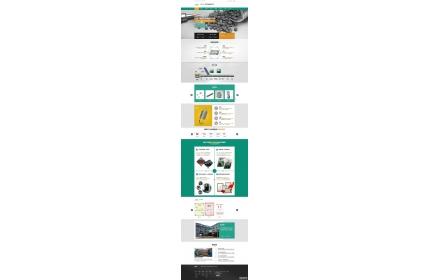 精密材料生产企业网站织梦源码源码