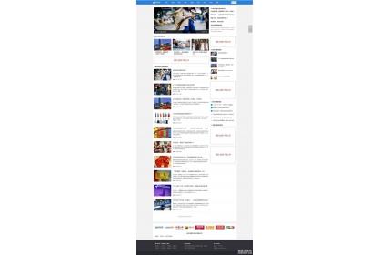 微头条新闻资讯网织梦dedecms模板源码