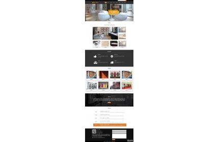响应式卫浴瓷砖行业网站织梦dedecms模板源码(含手机版)