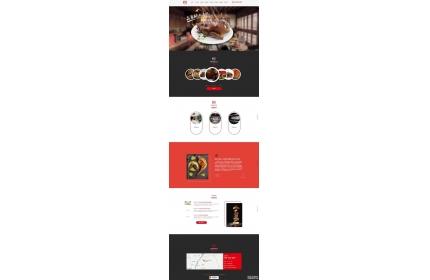 响应式的食品餐饮加盟公司网站织梦dedecms模板源码(含手机版)