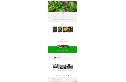 响应式果园生态农业公司网站织梦dedecms模板源码(含手机版)