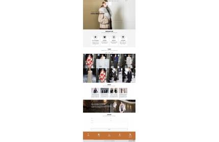 响应式服饰服装设计公司网站dedecms模板源码(含手机版)