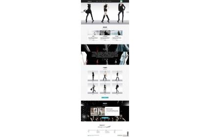 响应式女装服装品牌设计公司网站织梦dedecms模板源码(含手机版)
