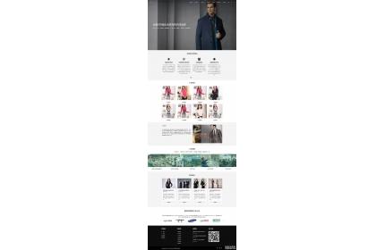 响应式服装服饰公司网站织梦dedecms模板源码(含手机版)