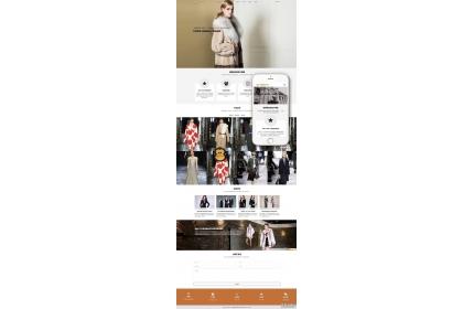 男女服装设计类网站织梦dedecms模板(自适应手机端) 免费下载