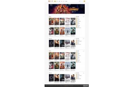 电影视频资源下载网站WordPress主题zmovie模板下载