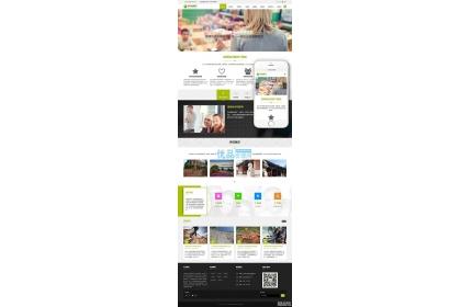 响应式教育培训出国留学类网站织梦dedecms源码(自适应手机端)