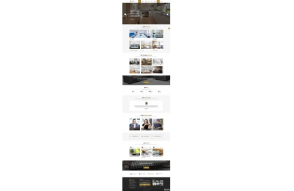 响应式的室内设计装修公司网站HTML模板源代码下载