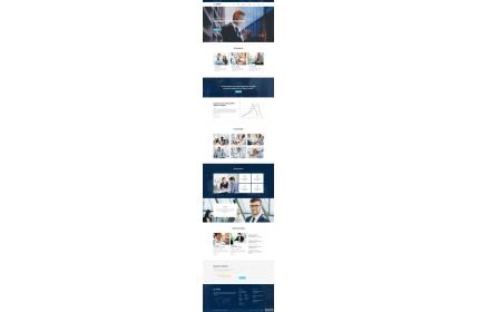 商业咨询和金融服务HTML模板源代码下载