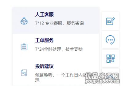 网站右下角悬浮在线人工客服和二维码源代码下载