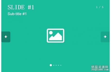 jQuery带标题文字介绍的图片轮播插件源代码下载