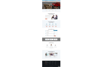 p2p小额贷款公司html网站模板源代码下载
