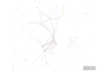 背景源码素材 Canvas全屏粒子网状线条特效下载