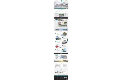 营销型户外岗亭站台设备类网站源码 岗亭停车棚站台设备网站织梦模板下载