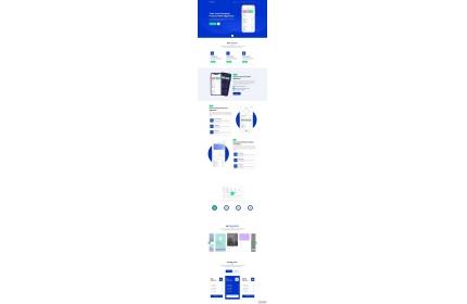 手机app应用程序官网模板源代码下载