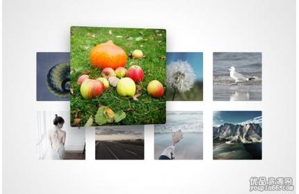 vue鼠标悬停图片不同角度放大特效源代码下载